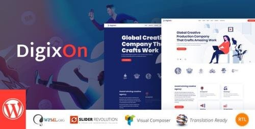 ThemeForest - Digixon v2.0 - Digital Marketing Strategy WP Theme - 23458621