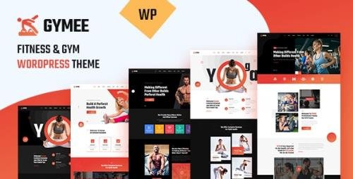 ThemeForest - Gymee v1.0 - Fitness WordPress Theme (Update: 23 February 21) - 28003270