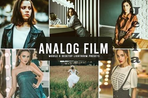 Analog Film Mobile & Desktop LRM Presets