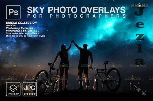 Night Sky Overlays, Pastel sky, sky overlay textures V4 - 1254121