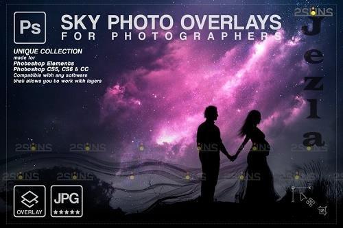 Night Sky Overlays, Pastel sky, sky overlay textures V7 - 1254131