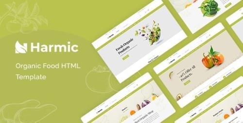 ThemeForest - Harmic v1.0.1 - Organic Food HTML Template - 30952140
