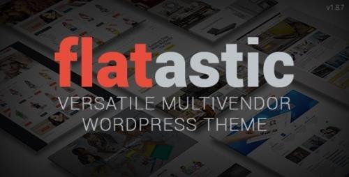 ThemeForest - Flatastic v1.8.7 - Versatile MultiVendor WordPress Theme - 10875351 -