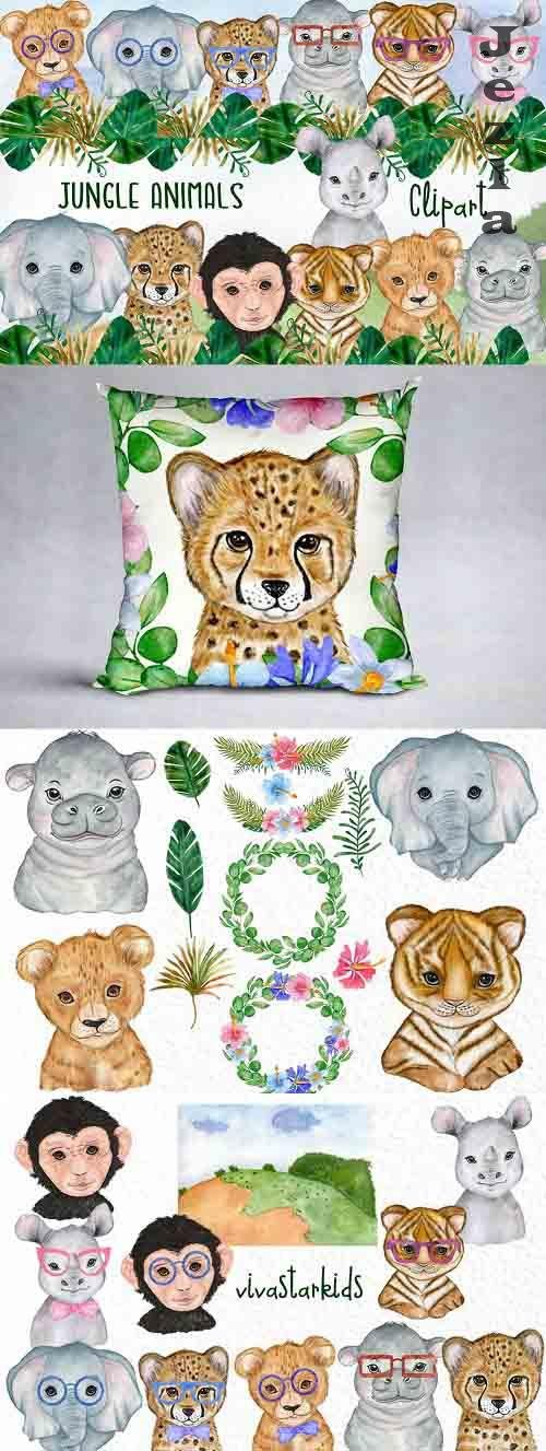 Jungle animals Safari Animals - 5962114