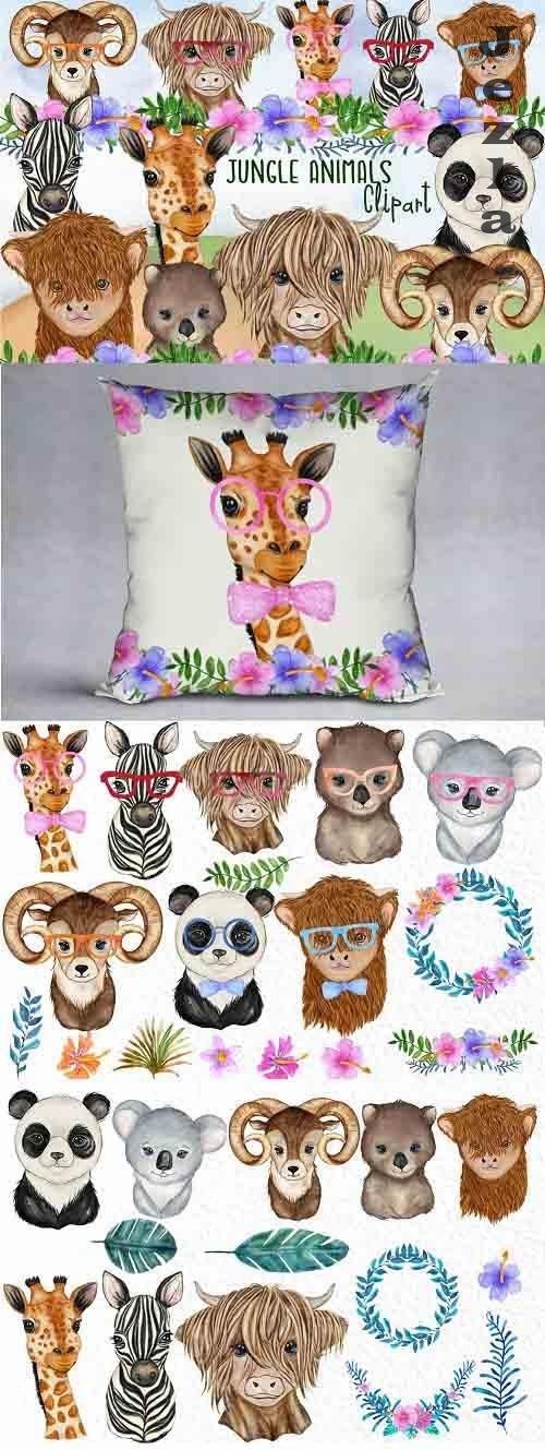 Jungle animals Safari Animals - 5980638
