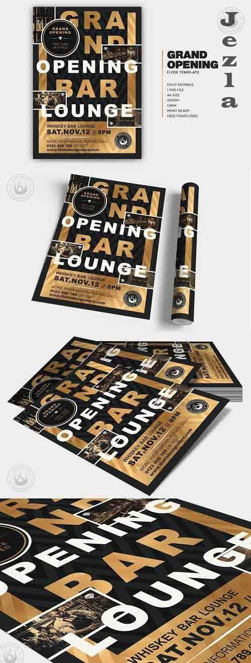 Grand Opening Flyer Template V4 - 5988271
