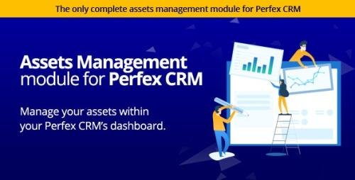 CodeCanyon - Assets Management module for Perfex CRM v1.1.0 - Organize company and client assets - 25615418