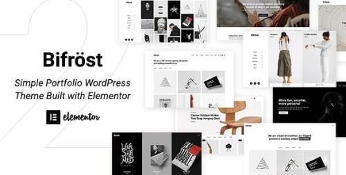 ThemeForest - Bifrost v2.1.9 - Simple Elementor WordPress Theme - 23180008