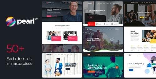 ThemeForest - Pearl v3.3.0 - Corporate Business WordPress Theme - 20432158 -