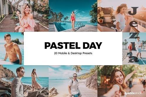 20 Pastel Day LRM Presets LUTs - 5994084
