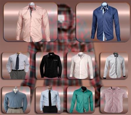 Клипарты / Cliparts - Мужские рубашки