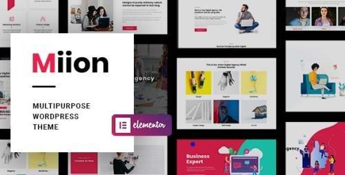 ThemeForest - Miion v1.2.0 - Multi-Purpose WordPress Theme - 24578107 -
