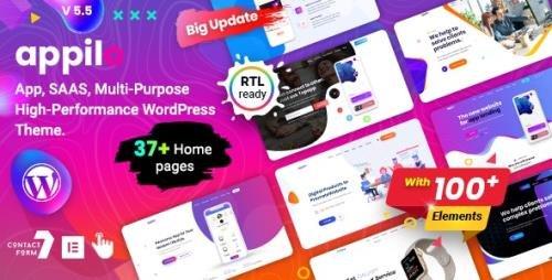 ThemeForest - Appilo v5.6 - App Landing WordPress Theme - 22358661 -