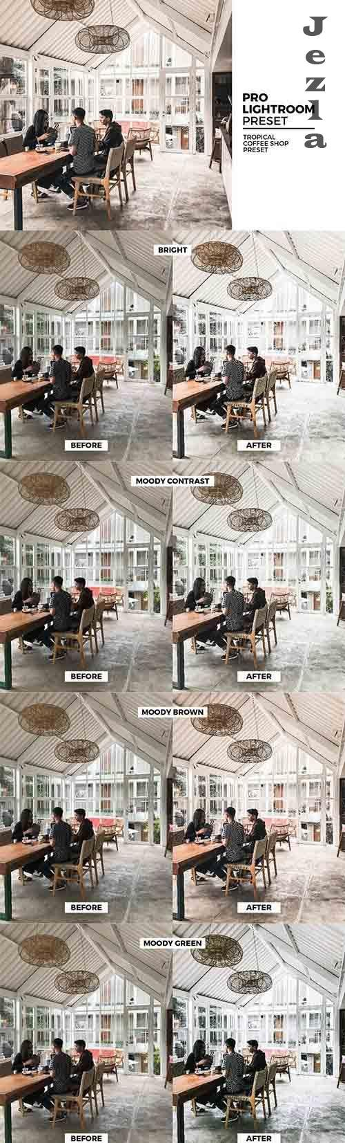 CreativeMarket - Tropical Coffee LRM Presets 5982424