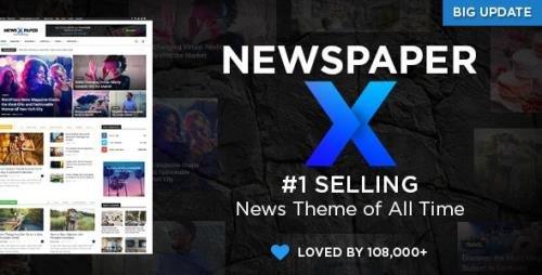 ThemeForest - Newspaper v10.4 - WordPress Theme - 5489609 -