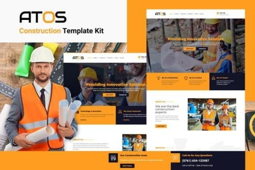 ThemeForest - Atos v1.0.3 - Construction Elementor Template Kit - 31352859