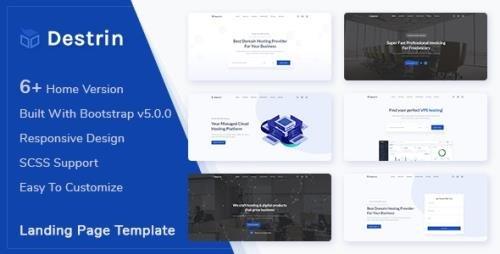 ThemeForest - Destin v1.0 - Bootstrap 5 Landing Page Template - 31331957