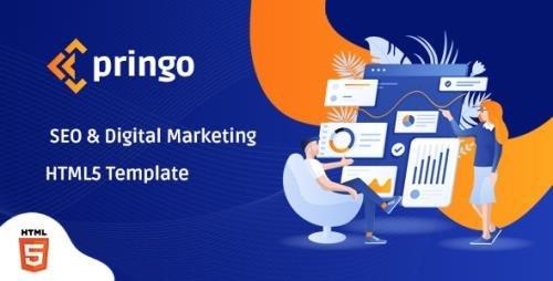 ThemeForest - Pringo v1.0 - Digital Marketing Bootstrap 5 Template - 30997676