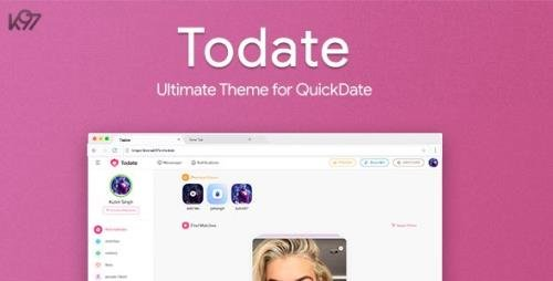 CodeCanyon - Todate v1.3 - The Ultimate QuickDate Theme - 24982814