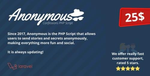 CodeCanyon - Anonymous v1.6.2 - Secret Confessions - 20583267