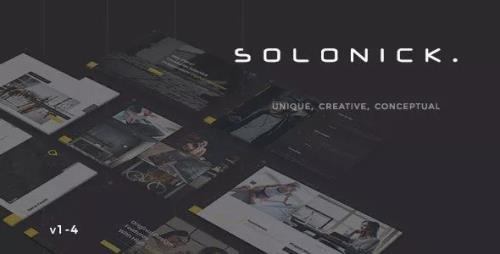 ThemeForest - Solonick v1.4 - Creative Responsive Personal Portfolio - 21743062
