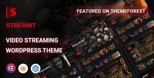 ThemeForest - Streamit v1.3.1 - Video Streaming WordPress Theme + RTL - 29772881