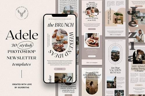 Adele - Stylish Newsletter Templates - 6034593