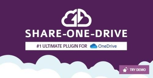 CodeCanyon - Share-one-Drive v1.14.3 - OneDrive plugin for WordPress - 11453104 - NULLED