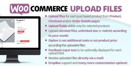 CodeCanyon - WooCommerce Upload Files v60.5 - 11442983 - NULLED