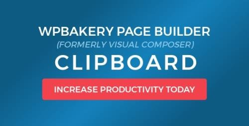 CodeCanyon - WPBakery Page Builder Clipboard v4.5.8 - 8897711
