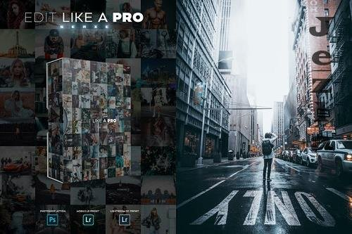 Edit Like A PRO 9th - Photoshop & Lightroom