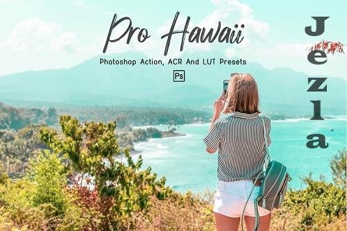 10 Pro Hawaii Photoshop Actions, ACR, LUT Presets - 1298831