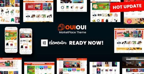 TemplateMonster - OuiOui v1.3.3 - Multi Vendor MarketPlace Elementor WooCommerce Theme - 84419