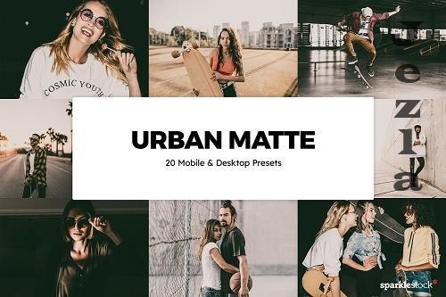 20 Urban Matte Lightroom Presets - 6043819