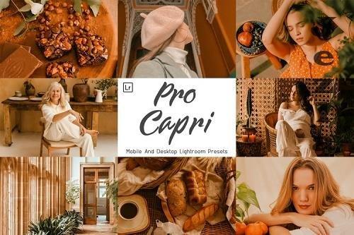 7 Pro Capri Desktop And Mobile Lightroom Presets - 1300681