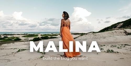 ThemeForest - Malina v2.2.1 - Personal WordPress Blog Theme - 23030474