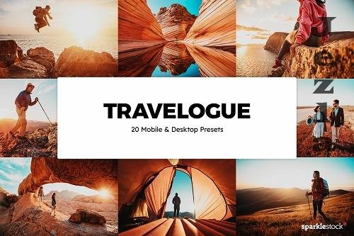 20 Travelogue Lightroom Presets & LUTs - 1301654
