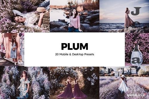 20 Plum Lightroom Presets & LUTs - 6046642