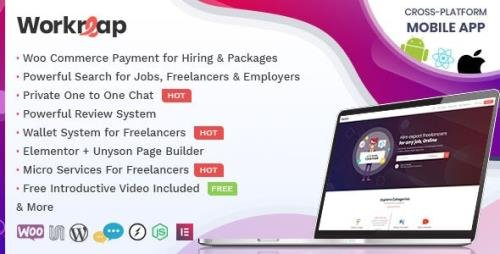 ThemeForest - Workreap v2.0 - Freelance Marketplace and Directory WordPress Theme - 23712454