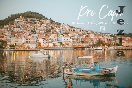 7 Pro Capri Photoshop Actions, ACR, LUT Presets - 1302962