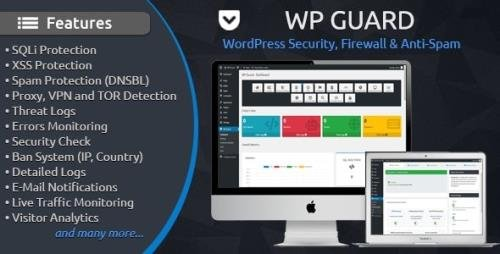 CodeCanyon - WP Guard v1.6.1 - Security, Firewall & Anti-Spam plugin for WordPress - 23753284