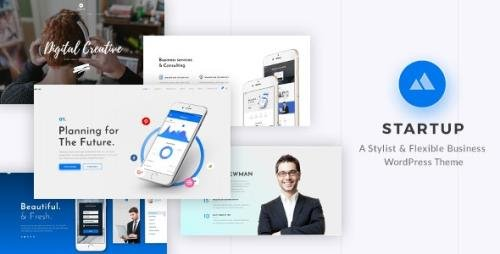 ThemeForest - StartUp v2.4 - Responsive Multi-Purpose WordPress Theme - 20101303