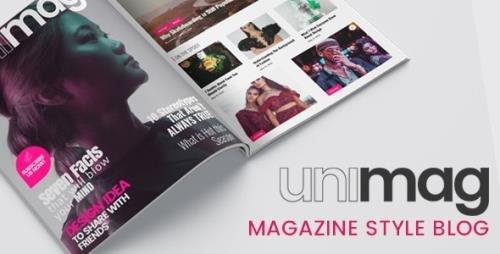 ThemeForest - Anymag v2.13 - Magazine Style WordPress Blog - 28367282