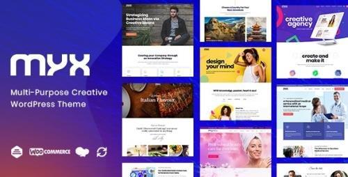 ThemeForest - Myx v1.1.2 - Business Multi-purpose WordPress Theme - 23570450