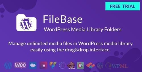 CodeCanyon - WordPress Media Library Folders - FileBase v2.0.3 - 24335198