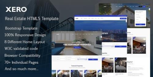 ThemeForest - Xero v1.1.0 - Real Estate HTML Template - 21815809