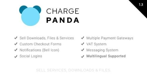 CodeCanyon - ChargePanda v1.3 - Sell Downloads, Files and Services (PHP Script) - 25324681