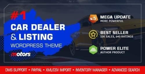 ThemeForest - Motors v5.0 - Car Dealer & Automotive Listing - 13987211 -