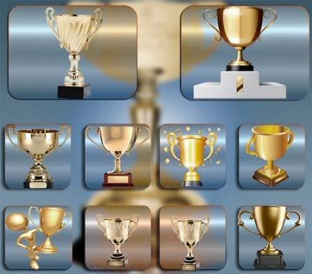 Png прозрачный фон - Наградные кубки