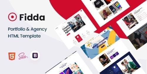 ThemeForest - Fidda v1.0 - Portfolio & Agency HTML5 Template - 31127576